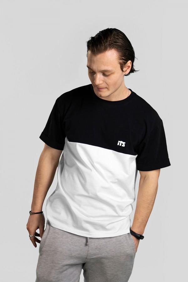 Футболка #11, чёрный-белый
